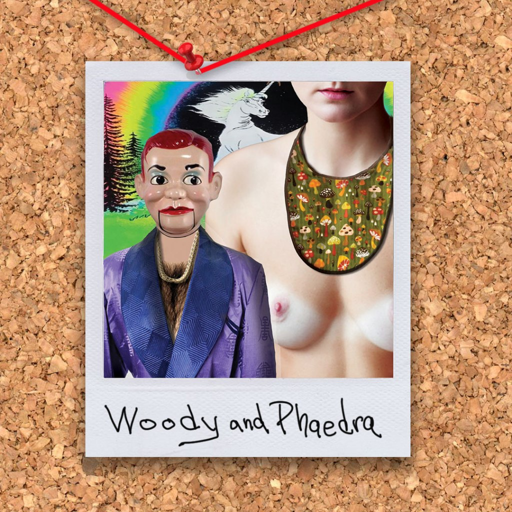 """Woody and Phaedra from the novel """"Morningwood"""" by Perry V Wade."""